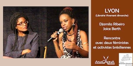 Djamila Ribeiro et Joice Berth à la librairie Vivement dimanche ! billets