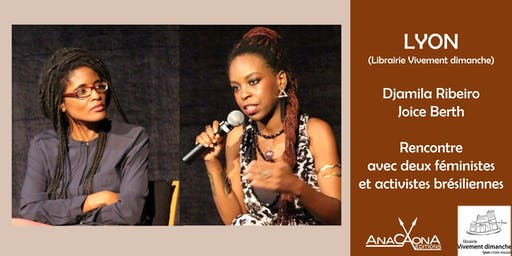 Djamila Ribeiro et Joice Berth à la librairie Vivement dimanche !