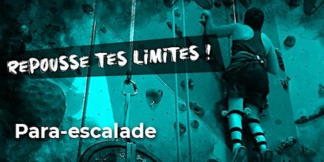Escalade adaptée - Allez Up - La matinale tickets