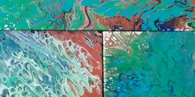 ACRYLIC POUR PAINTING