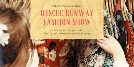 Rescue Runway Fashion Show tickets