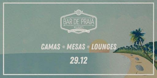 Bar de Praia 2020 - (29/12) Turbulência - Camas / Mesas / Lounges