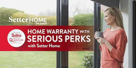 The Home Warranty with Serious Perks  - with Setter Home tickets