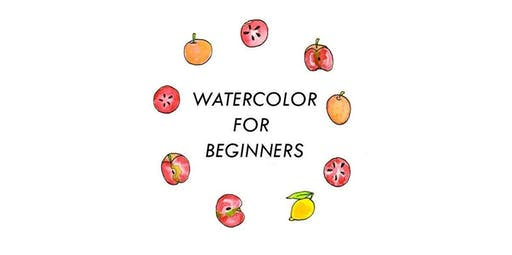 Watercolor Basics: Learn to Paint with Jenny Lemons (2020-01-21 starts at 7:00 PM)