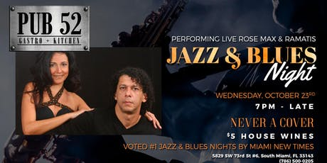 Rose Max & Ramatis Brazilian Jazz Duo tickets