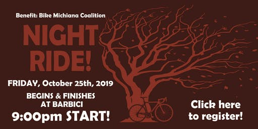 BarBici Night Ride October 25th