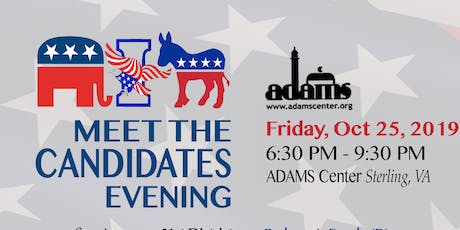 ADAMS Candidates night - by ACE tickets