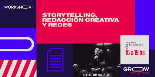Workshop: Storytelling, redacción creativa y redes sociales