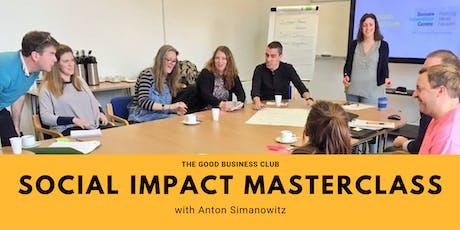 Social Impact Masterclass with Anton Simanowitz tickets
