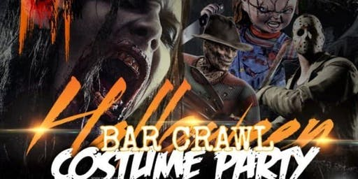 Halloween BAR CRAWL ( Street Party)