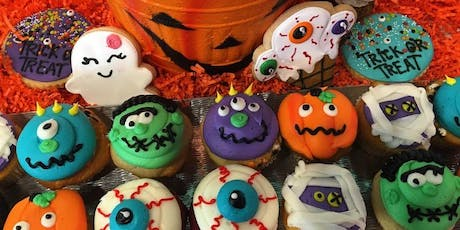 Halloween Cupcake Decorating tickets