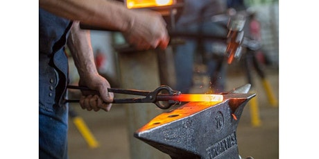 Blacksmithing Discovery Class (08-06-2020 starts at 10:00 AM) tickets
