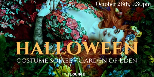 "Halloween Costume Party - ""Garden of Eden in Georgetown"""