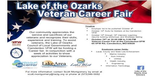 2019 Lake of Ozarks Area Veterans Career Fair
