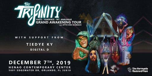 The Harmonic Connection presents: The Trifinity & Friends
