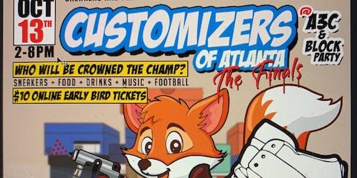 Customizers of Atlanta: A3c Festival Finals & Block Party
