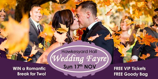 Hawkesyard Hall Wedding Fayre, Rugeley. 17th November