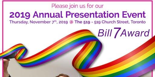 Bill 7 Award 2019 Annual Presentation Event