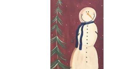 Snowman Sip'n'Paint Party (Oil City)