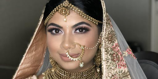 South Asian Bridal Hairstyling & Makeup Course