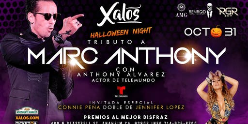 Tributo a Marc Anthony y JLO Halloween Night