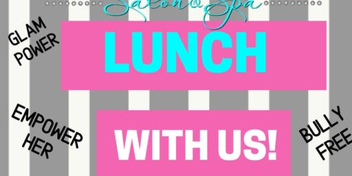 Lunch with us (Glam Squad)