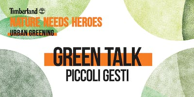 URBAN GREENING MILAN / TALK PICCOLI GESTI