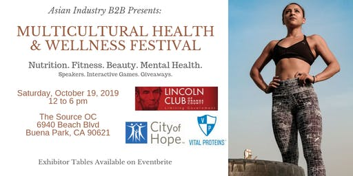 AIB2B Presents: Multicultural Health & Wellness Festival