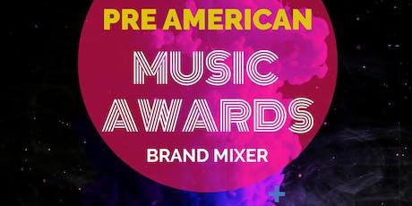 Pre AMA Week Brand Mixer tickets