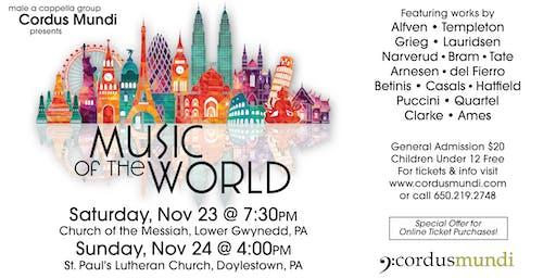 Cordus Mundi Music of the World