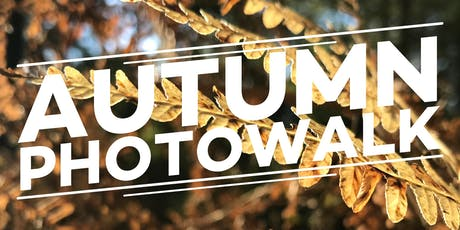 Autumn Photowalk - walk, talk and learn! tickets