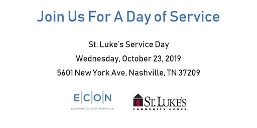 St. Luke's Service Day