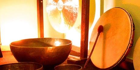 Cuencos Gongs y Pandero Chamánico entradas