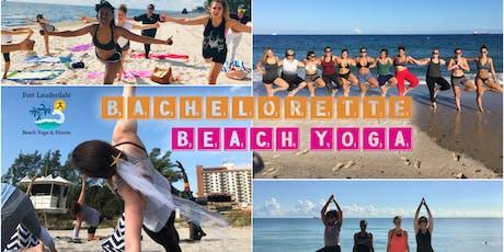 Bachelorette Beach Yoga | $10 at door tickets