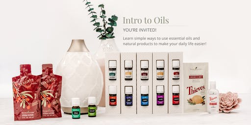 Essential Oils - A Better Way to Take Control of Your Health