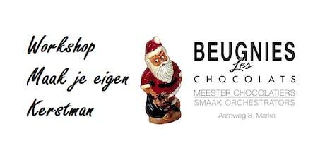 """Workshop """"Maak je eigen Kerstman"""" billets"""