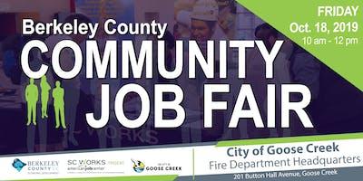 Berkeley County Community Job Fair in Goose Creek