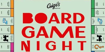 Board Games Night at Gigi's