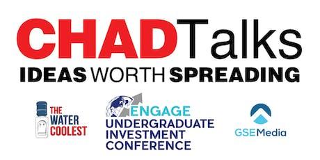 CHAD Talks tickets
