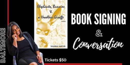 Book Signing & Intimate Conversation