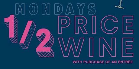 1/2 Price Monday's tickets