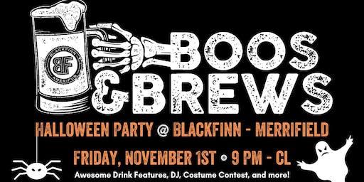 Boos & Brews: Halloween Party at Blackfinn!