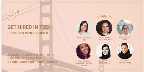 Get Hired in Tech: Recruiter Panel and Mixer billets