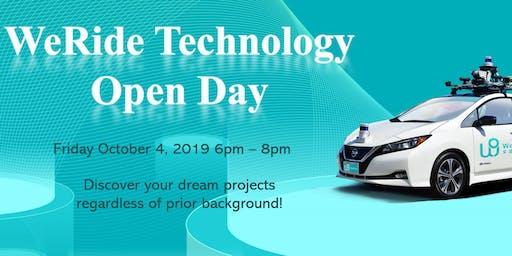 WeRide Technology Open Day