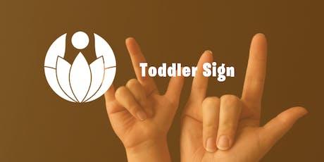 Toddler Sign Language - 4 Week Series tickets