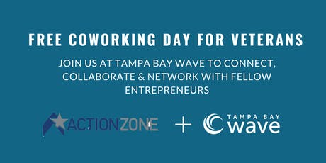 FREE Coworking Day for Veterans at Tampa Bay Wave tickets