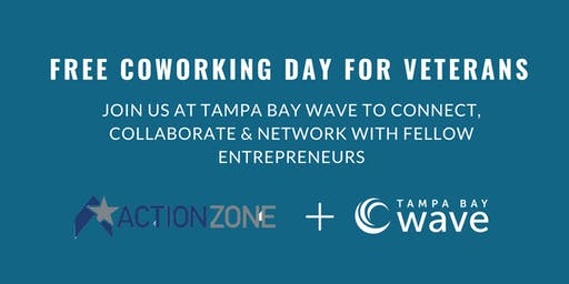 FREE Coworking Day for Veterans at Tampa Bay Wave