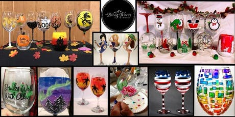 Wine Glass Painting Party at Boring Winery & Tap Room! tickets