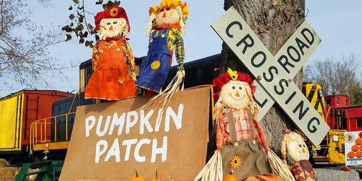 Real Pumpkin Patch Train Rides