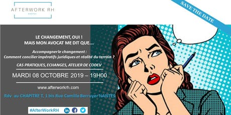 AFTERWORK RH NANTES 08 OCTOBRE 2019 billets